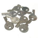 Vintage Excelsior EX4 Luggage/Trunk Key Blanks, bu