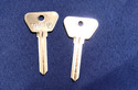 Vintage Auto Key O79JD (DL HF11)  for Opel (See Ch