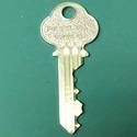 Folger Adam Mogul Cylinder Brass with 2 keys