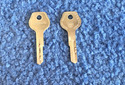 Vintage Auto Key L67V (DL LR67VA)  for Lloyd (See