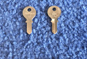 Foreign Auto Key L69L (DL LA5)  for Lambretta (See