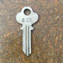 (1) Vintage Key Blank Niessen 612 ( Ilco 1013, plu