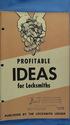 Profitable Ideas For Locksmiths (Vintage, Locksmit