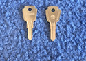 Vintage Auto Key S67D (DL 61P)  for Simca (See Cha