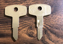 Vintage Auto Key Y73D (DL YH17)  for Yamaha (See C