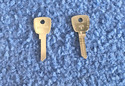 Vintage Auto Key Y77G (DL YH9)  for Yamaha (See Ch