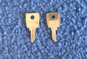 Vintage Auto Key Y77KR (CURTIS YM28)  for Yamaha (