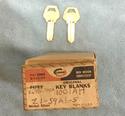 Corbin Old Fancy Vintage Original Key Z1-59A1-5, I