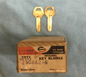 Old Fancy Vintage-Collectors Original Corbin Key Z