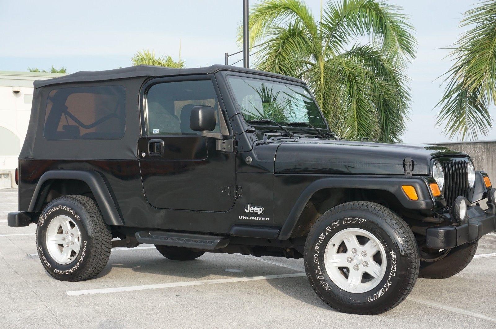 2004 Jeep Wrangler Unlimited 4x4 Two Door