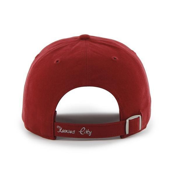 Kansas City Chiefs Womens Hat NEW  47 Brand Clean Up Adjustable Sparkle  Sequin c916f3024