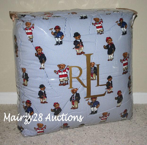Ralph Lauren Pillowcases Polo Bear Photos Table And Pillow