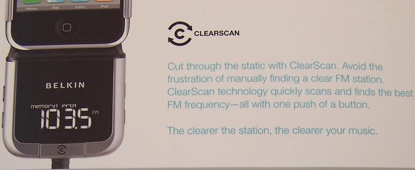 belkin fm transmitter charger for ipod classic 160gb ebay rh ebay com  Belkin F9K1106