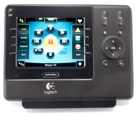 Details about Logitech Harmony 1100 Touch Screen LCD Remote Control