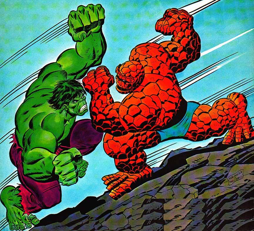 Hulk Vrs Thing Ron Wilson