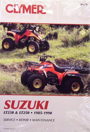 1985 Suzuki 3 Wheeler. Suzuki LT230S LT250S Quadsport