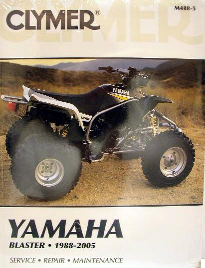 new yamaha atv yfs200 200 blaster service repair manual