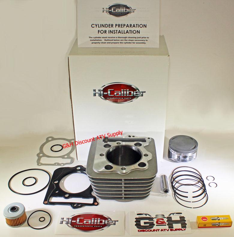 Motorcycle Engine Parts For Honda Xr400 Xr 400 1996 2004: 1996-2004 Honda XR400R 440cc 89mm BIG BORE Engine Motor