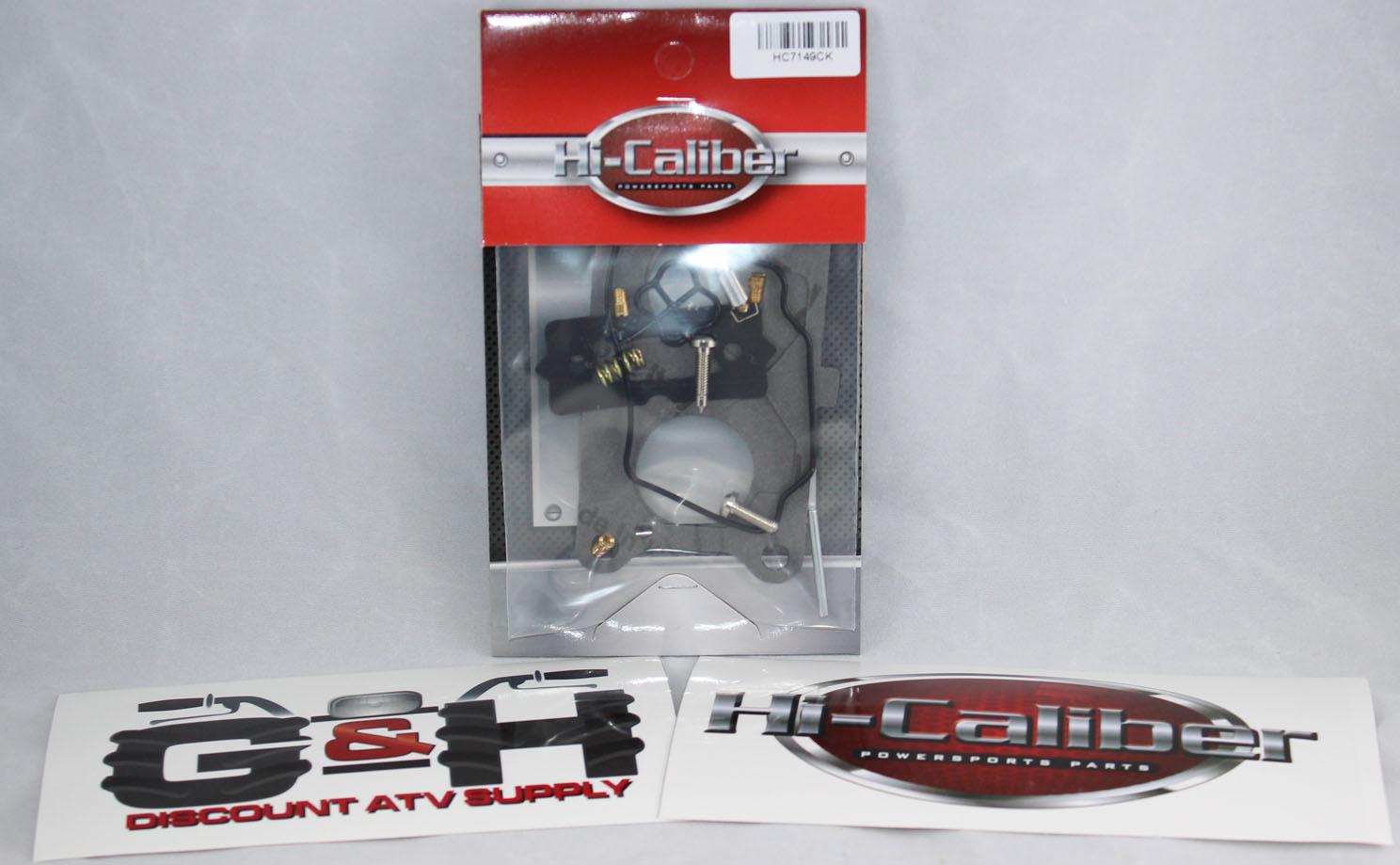 Kawasaki Caliber Rebuild Kits