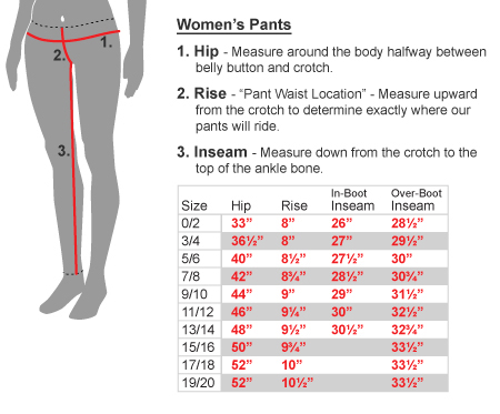 For women. US Standard Pants Sizes: This size system ranges from XS to XXXL. This sizing system is usually used for jogger pants, lounge pants and sometimes workwear pants. For men. For women. EU Pants Sizes: Are used in Europe, mainly France, Germany, UK, and Italy.