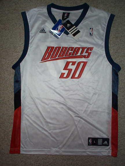5615a1524e0 Adidas Charlotte Bobcats Emeka Okafor NBA Jersey L on PopScreen