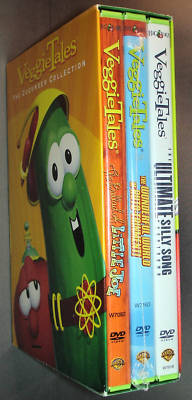 jimnsusan : VeggieTales CUCUMBER COLLECTION Veggie Tales NEW 3 DVD