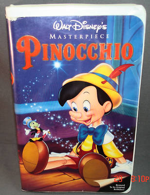 jimnsusan : Disney's PINOCCHIO Masterpiece VHS Clamshell ...