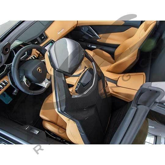 Lamborghini Aventador Carbon Fiber Seat Backs set