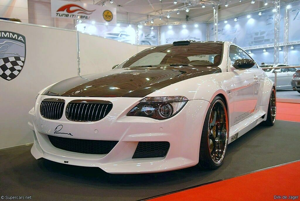 BMW 6 Series Widebody kit fitment for 2004 to 2010
