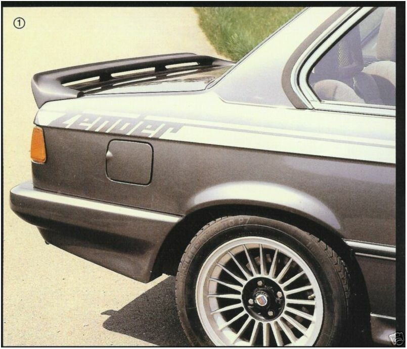 BMW 320 323 E21 Zender Style Bumper Spoilers..Nice