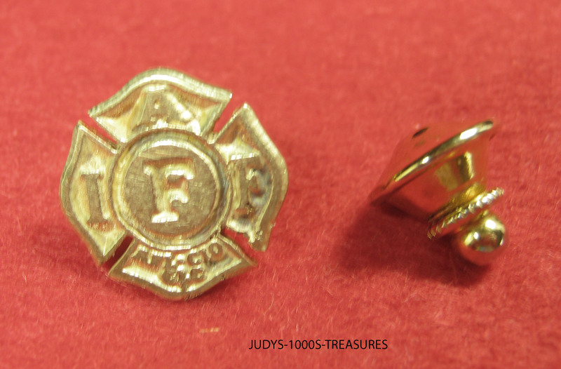 STERLING SILVER FIREFIGHTER HELMET HAT CHARM .75 x.50 INCHES MADE IN THE U.S.A.