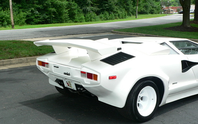 1986 replica kit makes lamborghini countach ebay. Black Bedroom Furniture Sets. Home Design Ideas