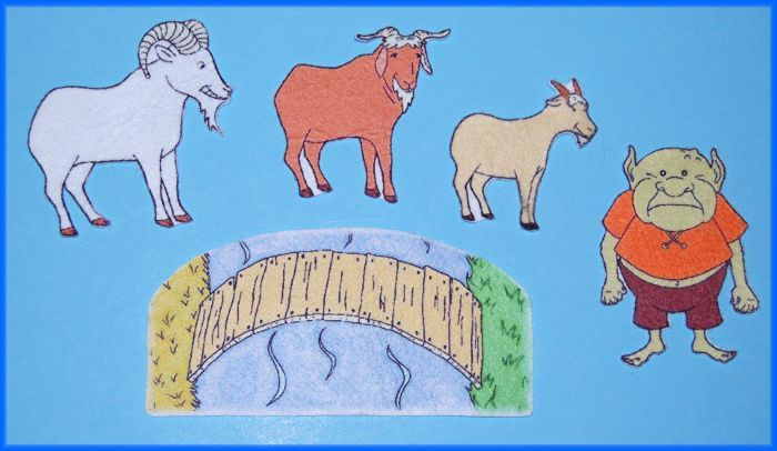 3 Billy Goats Gruff - Laptuoso