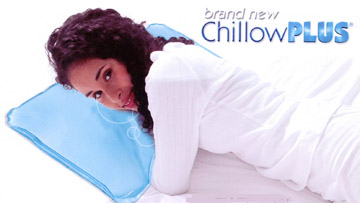 Chillowplus cool chillow pillow menepause hot flashes ebay for Cool pillow for hot flashes