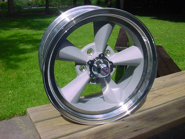 17x 8 American Racing Torq Thrust Wheel 5 On 55 Ford F100 F150 W