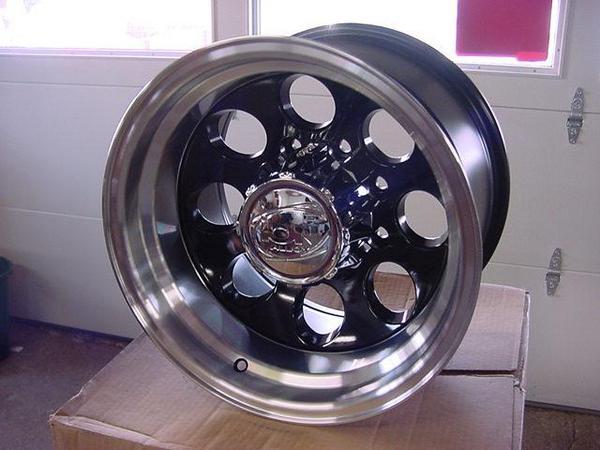 16x10 Black Ion Wheel S 6 Lug Chevy Gmc Silverado 6 On