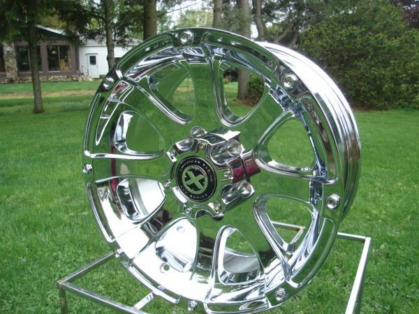 ATX 188 Ledge Colorado Canyon GMC Chrome American Racing Wheels New