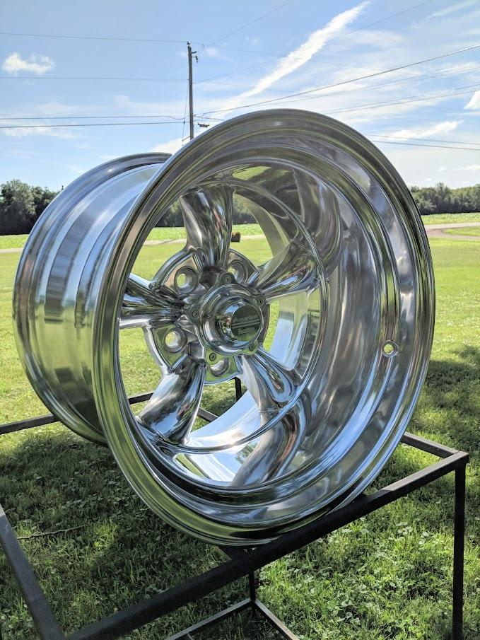 15x10 Quot Torq Thrust 2 Wheel American Racing Vn515 Chevy