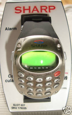 NEW Mens Sharp Digital Calculator Watch with Alarm
