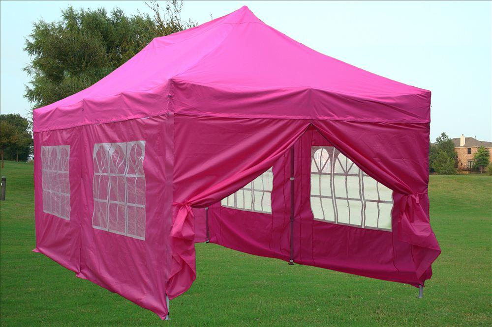 10 X20 Enclosed Pop Up Canopy Party Folding Tent Gazebo