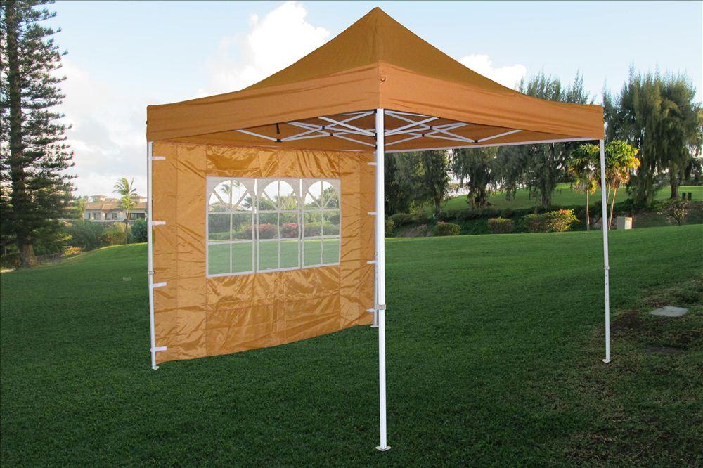 10 X 10 Pop Up Canopy Party Tent Gazebo Ez Burnt