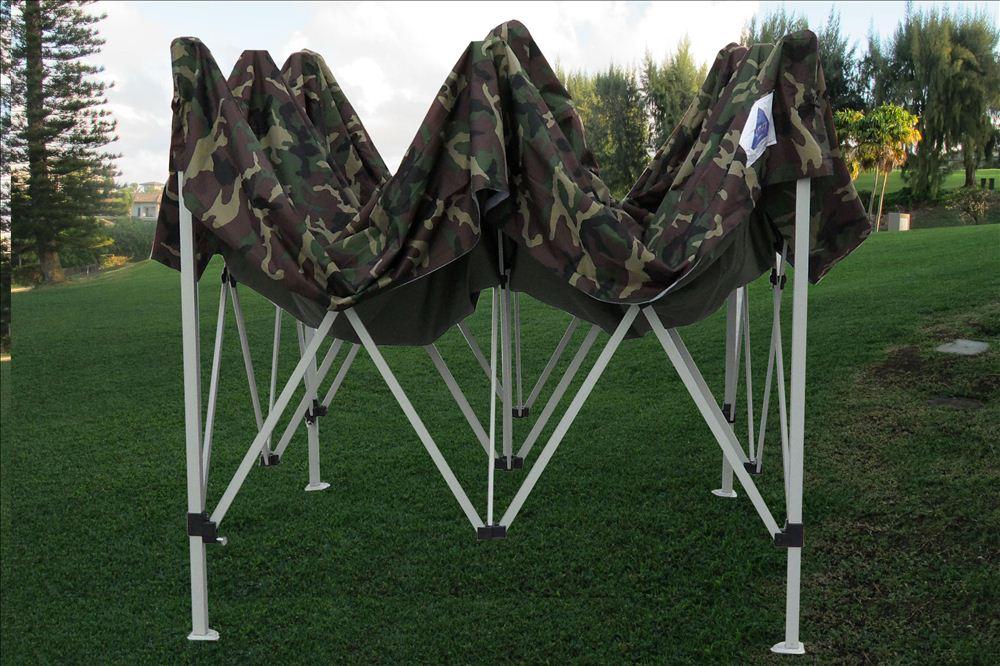 10 X 10 Pop Up Canopy Party Tent Gazebo Ez Camouflage