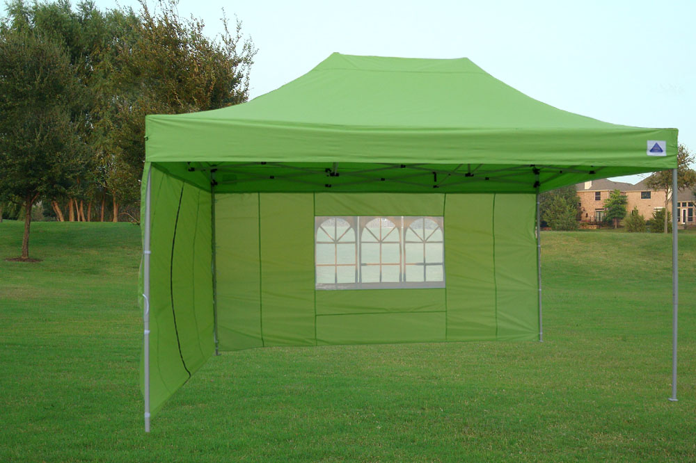 10 39 x15 39 enclosed pop up canopy party folding tent emerald e model ebay - Enclosed gazebo models ...