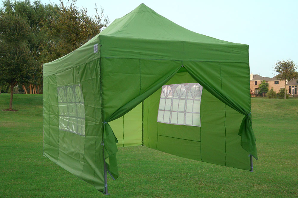 10 X15 Enclosed Pop Up Canopy Party Folding Tent