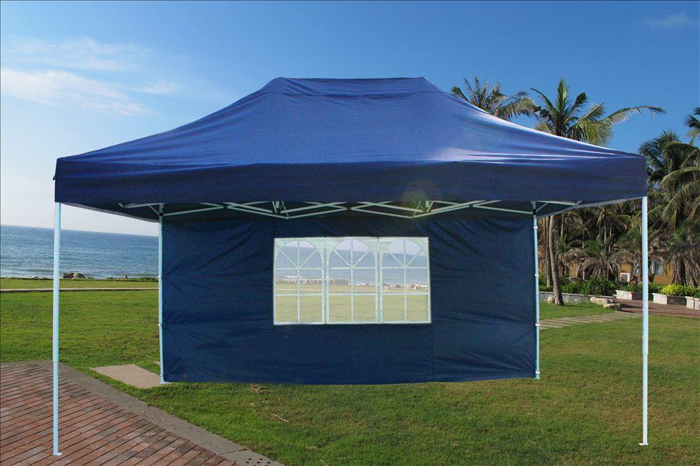 Ez Up Canopy 10x20 >> 10' x 15' Pop Up Canopy Party Tent Gazebo EZ - Navy Blue - E Model   eBay