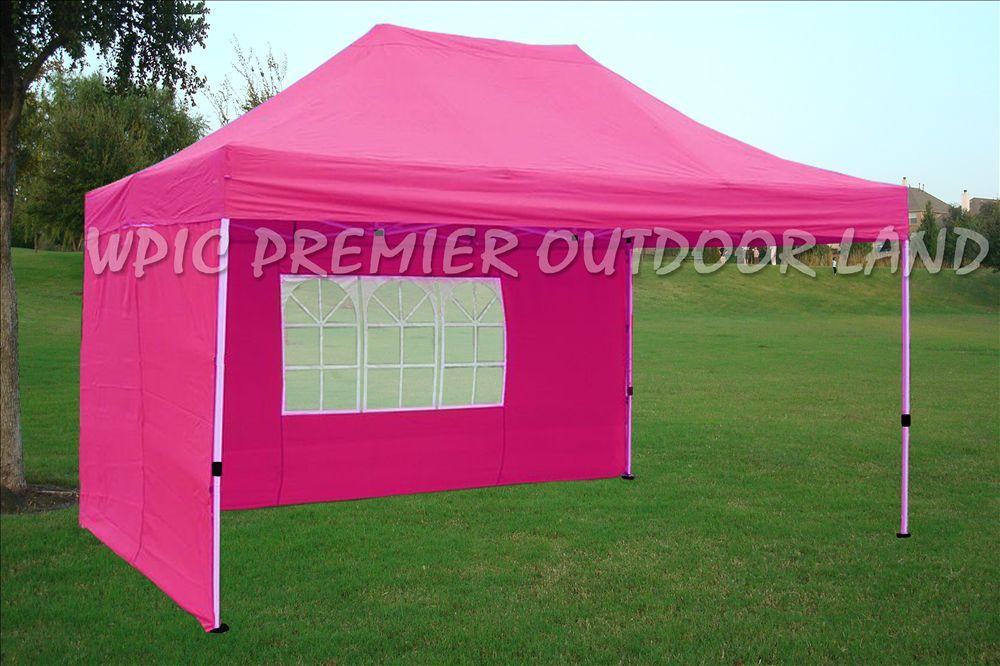 10 X15 Pop Up Canopy Party Tent Gazebo Ez Pink G Model