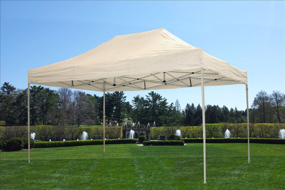 10 X15 Pop Up Canopy Party Tent Ez White F Model