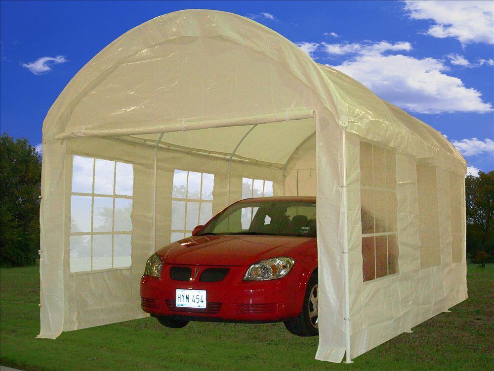 20 X 10 Party Tent Canopy Carport Car Shelter W Walls