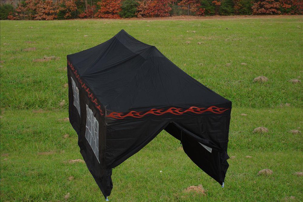 10u0027 x 20u0027 pop up tent black flame e model - 10x20 Pop Up Canopy