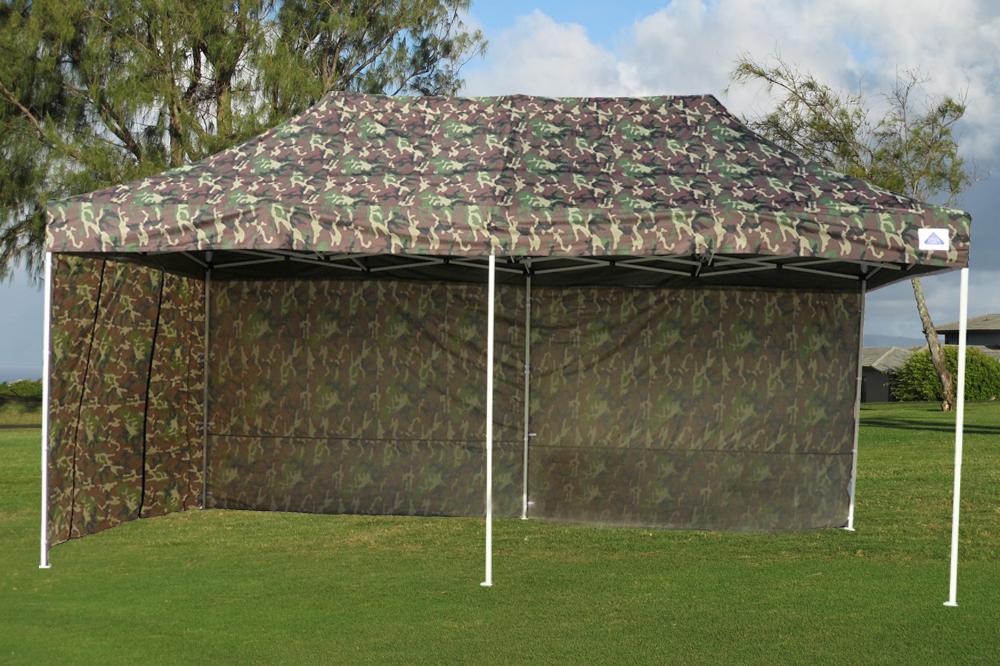 10 X 20 Pop Up Canopy Party Tent Gazebo Ez Camouflage